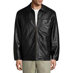 Vintage Leather Lambskn Bmbr Jkt Leather Car Coat