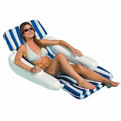 Swimline SunChaser Padded Floating Pool Lounger