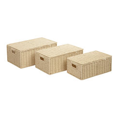 Honey-Can-Do® 3-pc. Paper Rope Basket Set