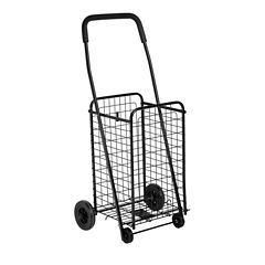 Honey-Can-Do® Medium Folding Rolling Utility Cart