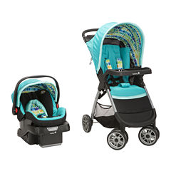 Safety 1st® Amble Quad Travel System - Rainbow Ice