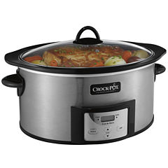 Crock-Pot® 6-qt. Slow Cooker with Stovetop-Safe Cooking Pot