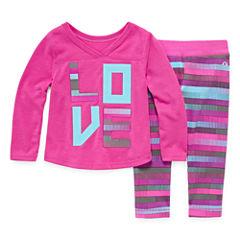 Xersion 2-pc. Legging Set-Baby Girls