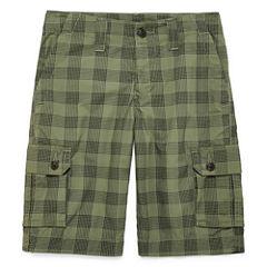 Arizona Poplin Cargo Shorts - Big Kid Boys Slim