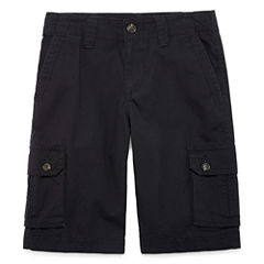 Arizona Poplin Cargo Shorts - Big Kid Boys Slim
