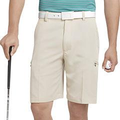 IZOD Golf Solid Cargo Shorts
