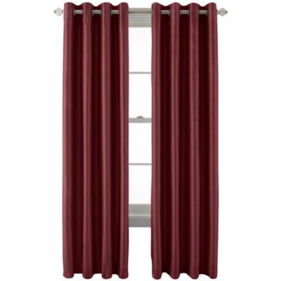 Royal Velvet® Plaza Grommet Top Lined Blackout Curtain Panel