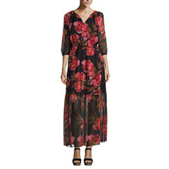 a.n.a Floral Maxi Dress