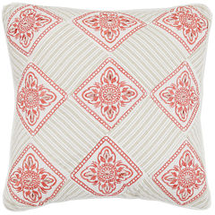 MaryJane's Home Garden View Square Decorative Pillow