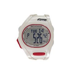 Asics AH01 Heart Rate Monitor White Watch-CQAH0103Y