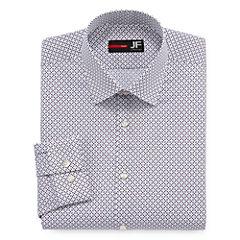 JFerrar Easy-Care Stretch Slim Fit Long Sleeve Dress Shirt