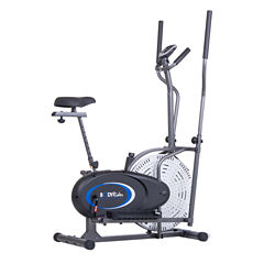 Body Flex 2-In-1 Cardio Dual Trainer Weight Bench