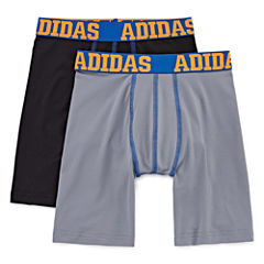 Adidas 2 Pack Boxer Briefs - Boys