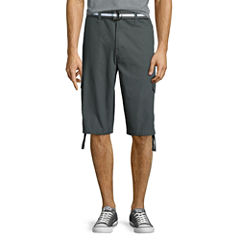 Southpole® Belted Ripstop Cargo Shorts
