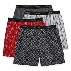 Hanes Men's FreshIQ™ ComfortFlex® Waistband Boxer 4-Pack