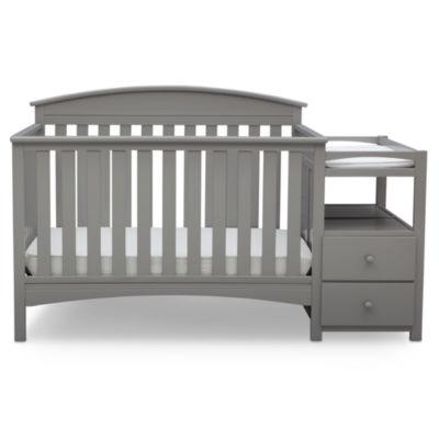 Delta Children Abby Storage Baby Crib   Painted