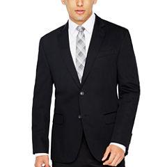 JF True Black Cotton Sport Coat Slim