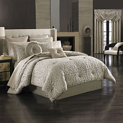 Queen Street® Antonia 4-pc. Jacquard Comforter Set