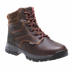 Wolverine Womens Waterproof Slip Resistant Hiking Boots Wide
