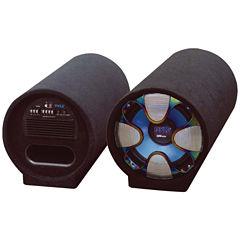 Pyle PLTAB10 Blue Wave Series Amplified SubwooferTube System