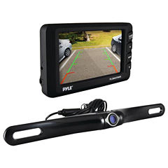 Pyle PLCM4375WIR 4.3IN LCD Monitor & Wireless Backup Camera with Parking/Reverse Assist System