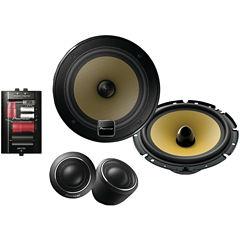 Pioneer TS-D1730C D-Series 6.75IN 180-Watt Component Speaker System