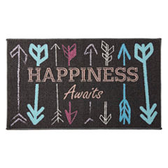 Home Expressions™ Happiness Rectangular Rug