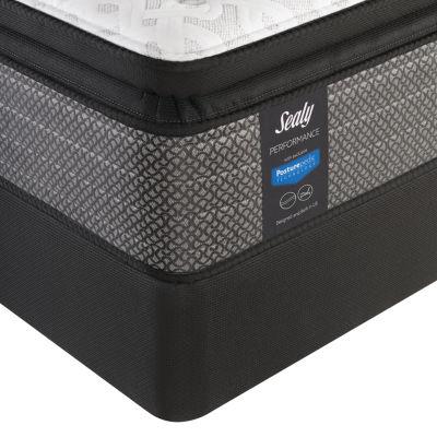 sealy performance davlin plush pillowtop mattress box spring - King Size Pillow Top Mattress