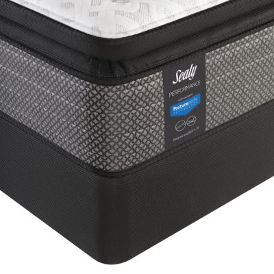 sealy performance davlin plush pillowtop mattress box spring - Twin Mattress For Sale
