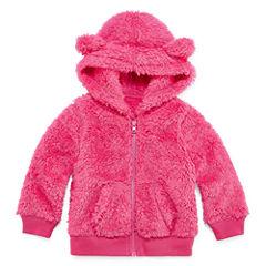Arizona Girls Teddy Bear Jacket-Baby
