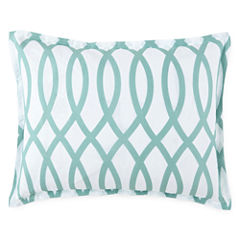 JCPenney Home™ Cotton Classics Borderline Reversible Sham