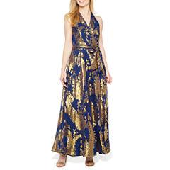 Be by CHETTA B Sleeveless Evening Gown