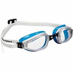 Us Driver K180ladygoggle Clearlens Wh Bl Swim Goggles