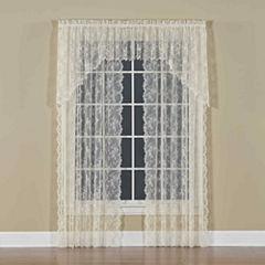 Petite Fleur Rod-Pocket Curtain Panel