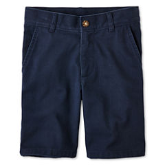 IZOD® Flat Front Shorts - Boys 8-20, Slim and Husky