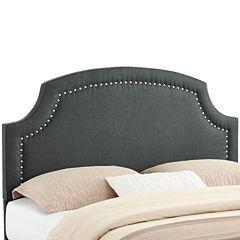 Bradenton Upholstered Headboard with Nailhead Trim
