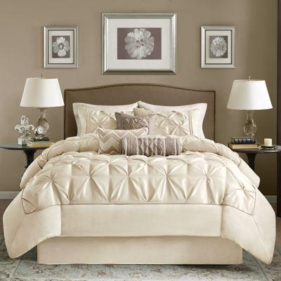 tufted comforter set