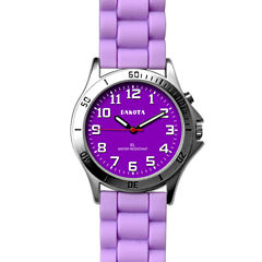 Dakota Women's Silicone Color Watch, Purple 53872