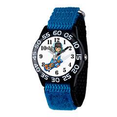 Disney Boys Blue and Black Miles From Tomorrowland Time Teacher Strap Watch W003045