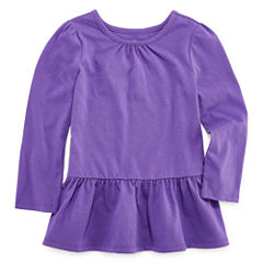 Okie Dokie Tunic Top - Toddler Girls