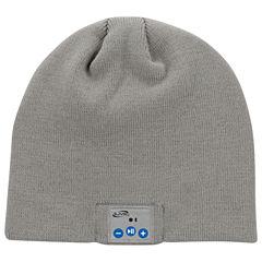iLive IAKB45 Bluetooth Wireless Knit Stocking Beanie with Microphone