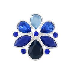 Liz Claiborne Womens Blue Stretch Ring