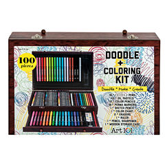 Art 101 100-pc. Mixed Media Art Set