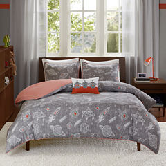 INK+IVY Orbit Duvet Cover Set