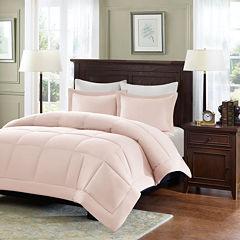 Madison Park Linstrom Microcell Down-Alternative Comforter Set