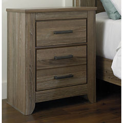 Signature Design by Ashley® Zelen Two-Drawer Nightstand