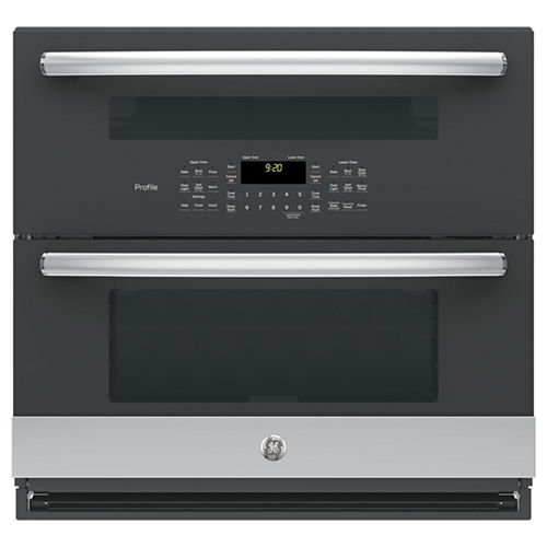 GE Profile™ Series 30 Built-In Twin Flex Convection Wall Oven