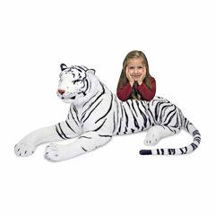 Melissa & Doug® White Tiger Plush
