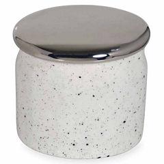 Scribble Spatterware Bathroom Canister