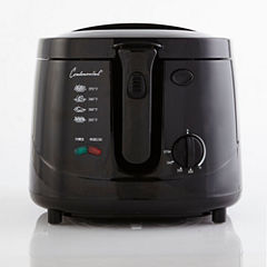 Continental Electric Cool Touch Deep Fryer